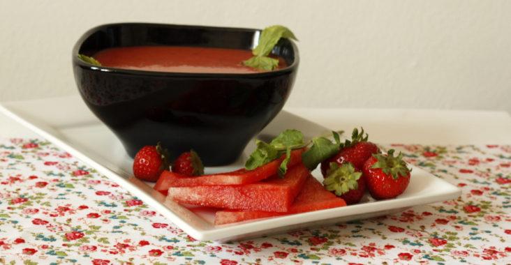 ovocná studená polévka
