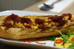 Phill's Twenty7 - hot dog