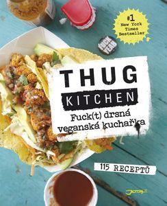 Fuck(t) drsná veganská kuchařka Obálka knihy