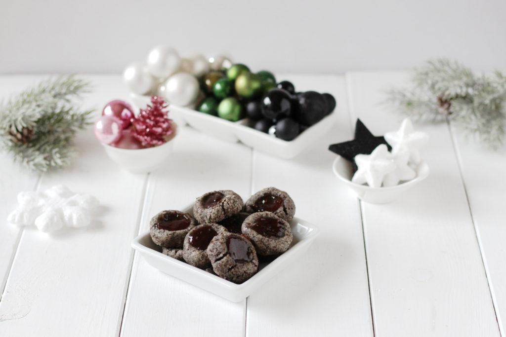vánoční makové cukroví