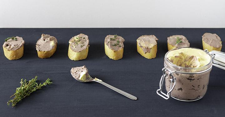 faux gras neboli veganské foie gras