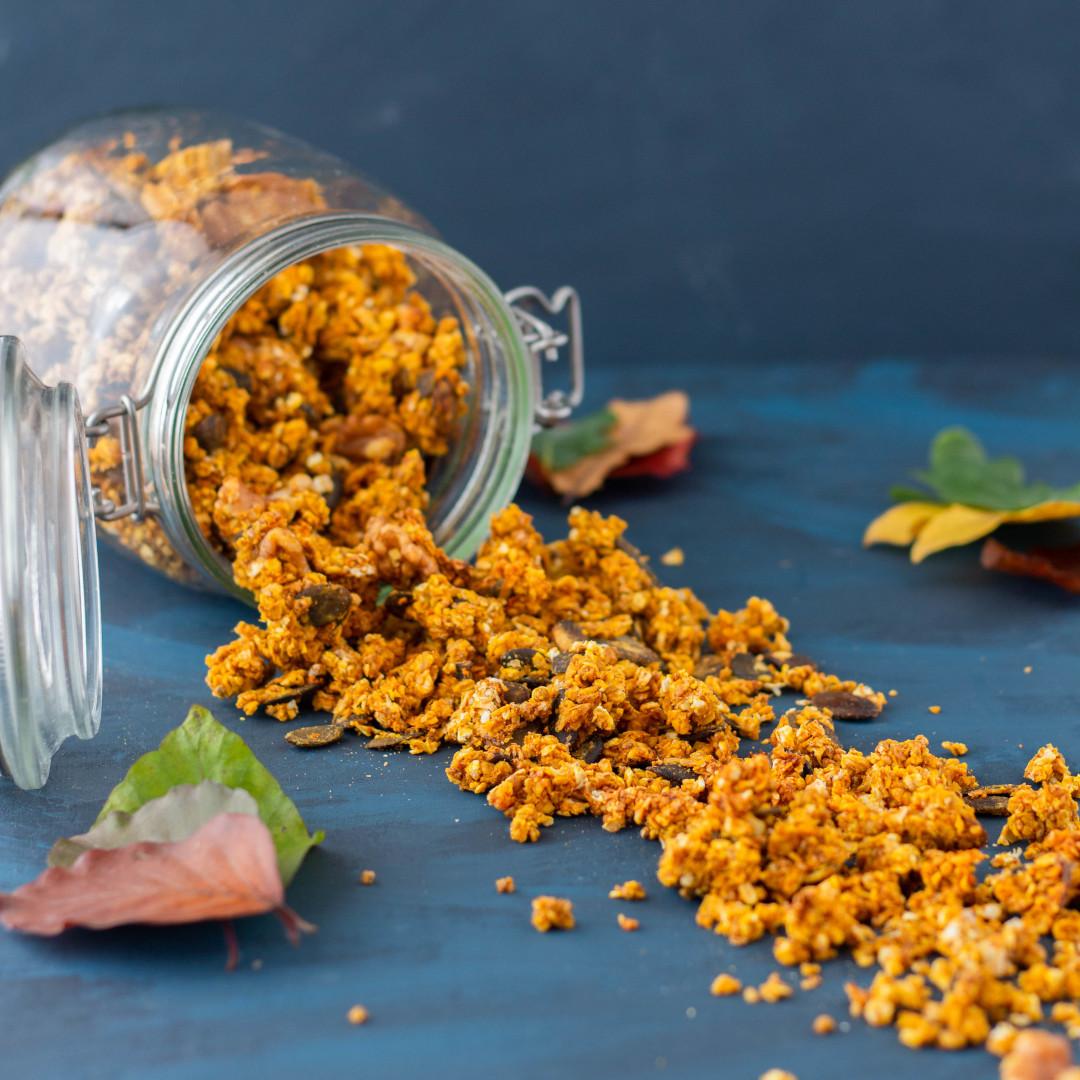 dýňová granola