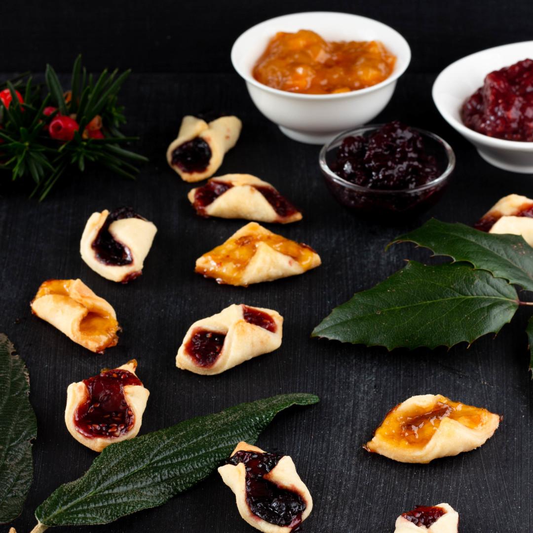 Kolaczki - polské vánoční cukroví