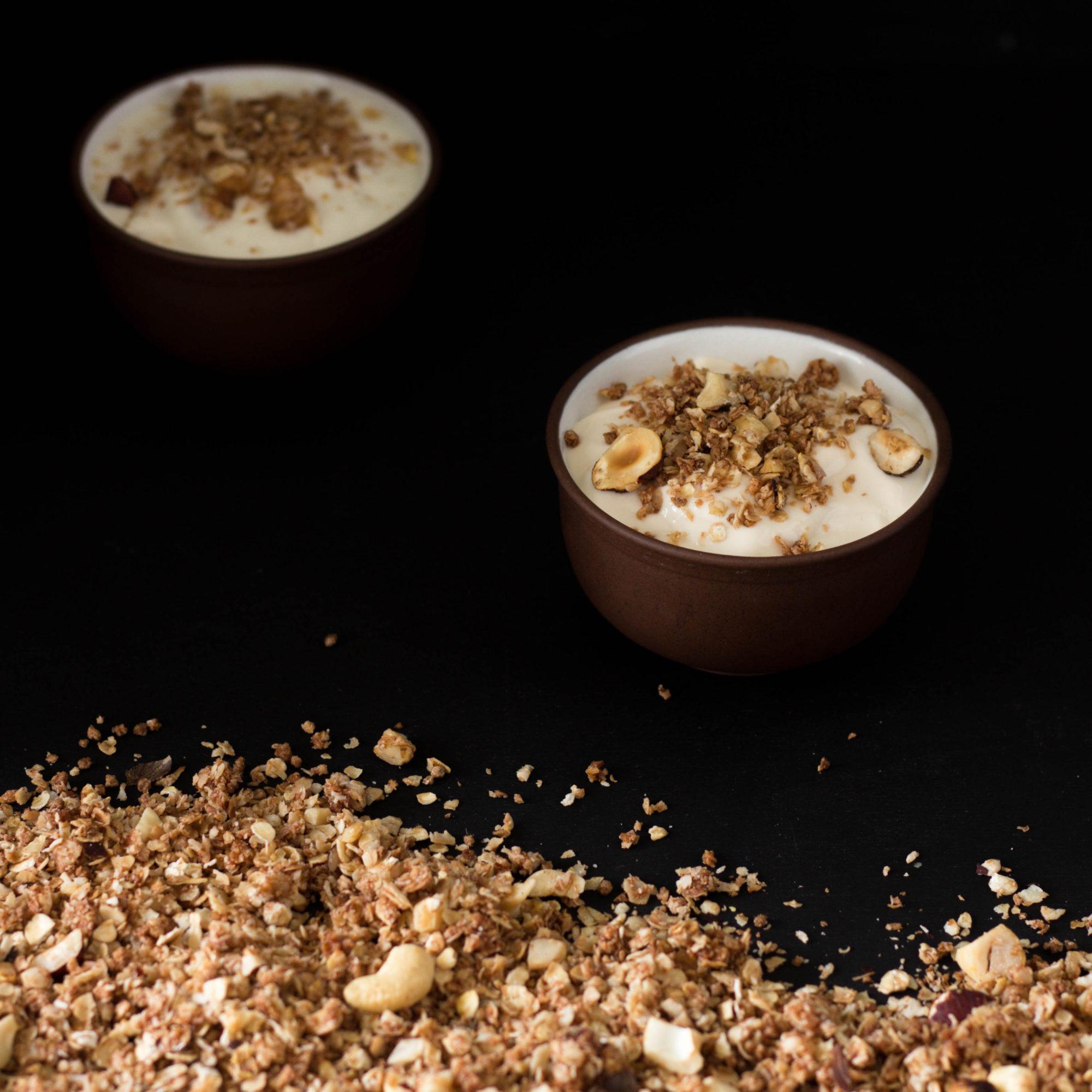 ořechové müsli